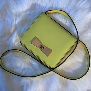 Kate Spade Square Crossbody Neon Purse